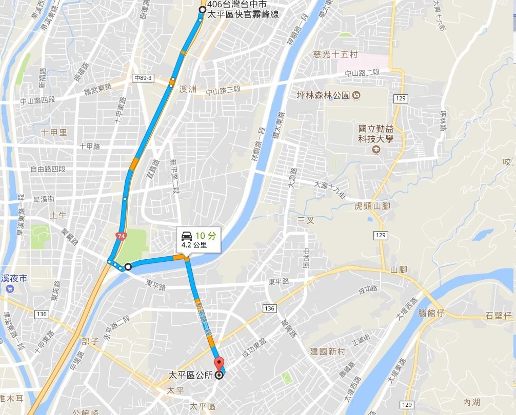 建議行駛路線圖(點我看大圖)